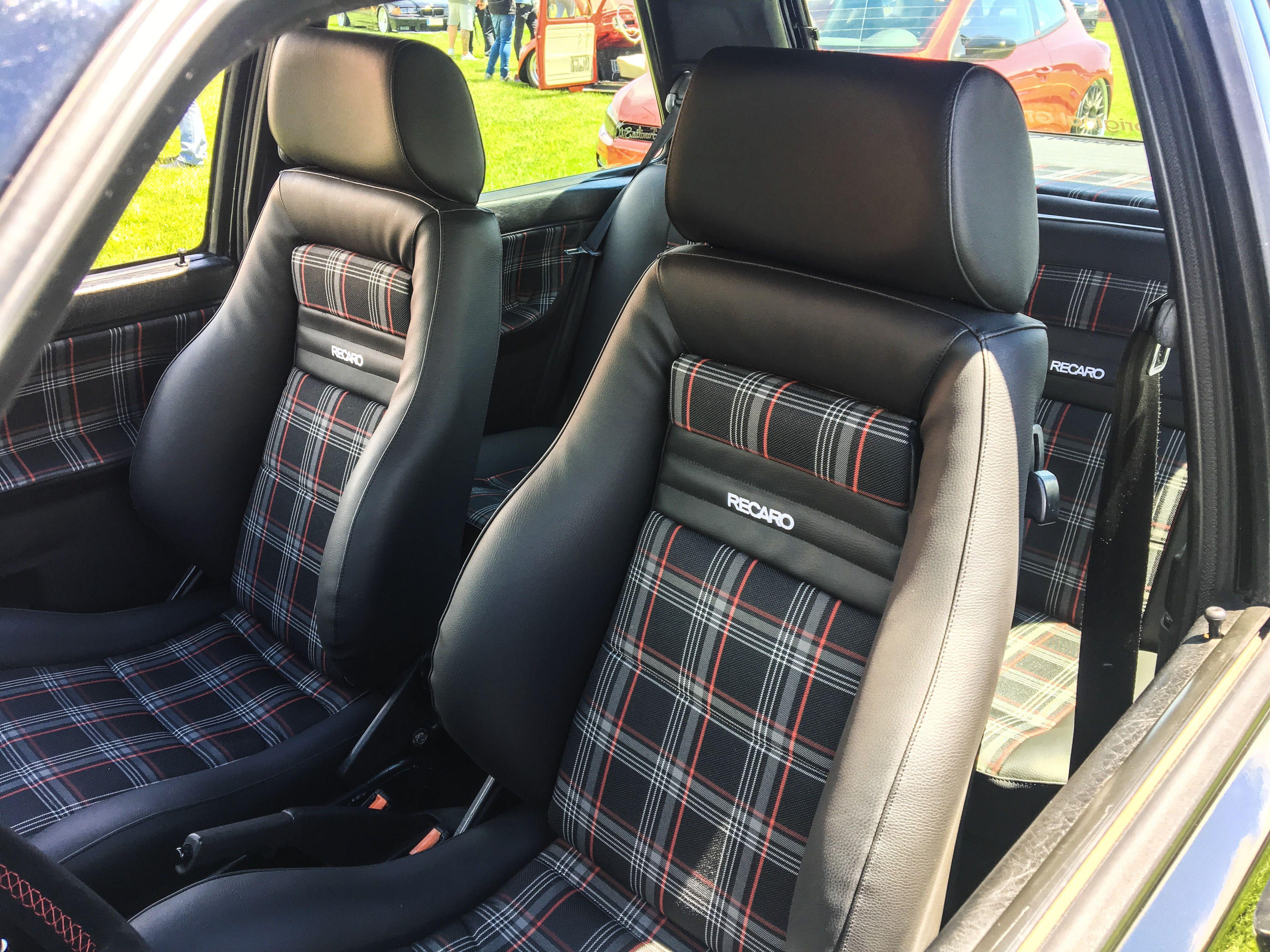 Vw Golf Mk2 Gti Interior Recaro Retapizado Tela Mk7 Gti Arabalar