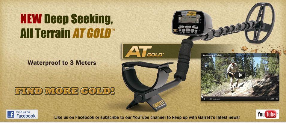 GARRETT AT GOLD Metal Detector - der Spezialist für kleine Edelmetallobjekte - bei www.nuggets.at im Online Shop