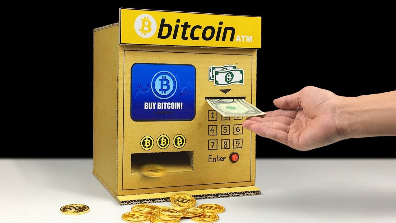 How to make bitcoin atm buy bitcoin at atm from cardboard youtube how to make bitcoin atm buy bitcoin at atm from cardboard youtube ccuart Images