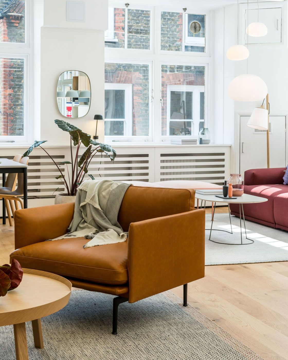 Scandinavian Lounge Chair Inspiration From Muuto The Outline Series Adds New Perspectives To The Classic Scandinavian Design Sofas Of The 1960 S Marrying The