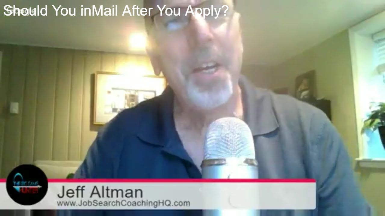 When Applying on LinkedIn, Should You Also InMail the