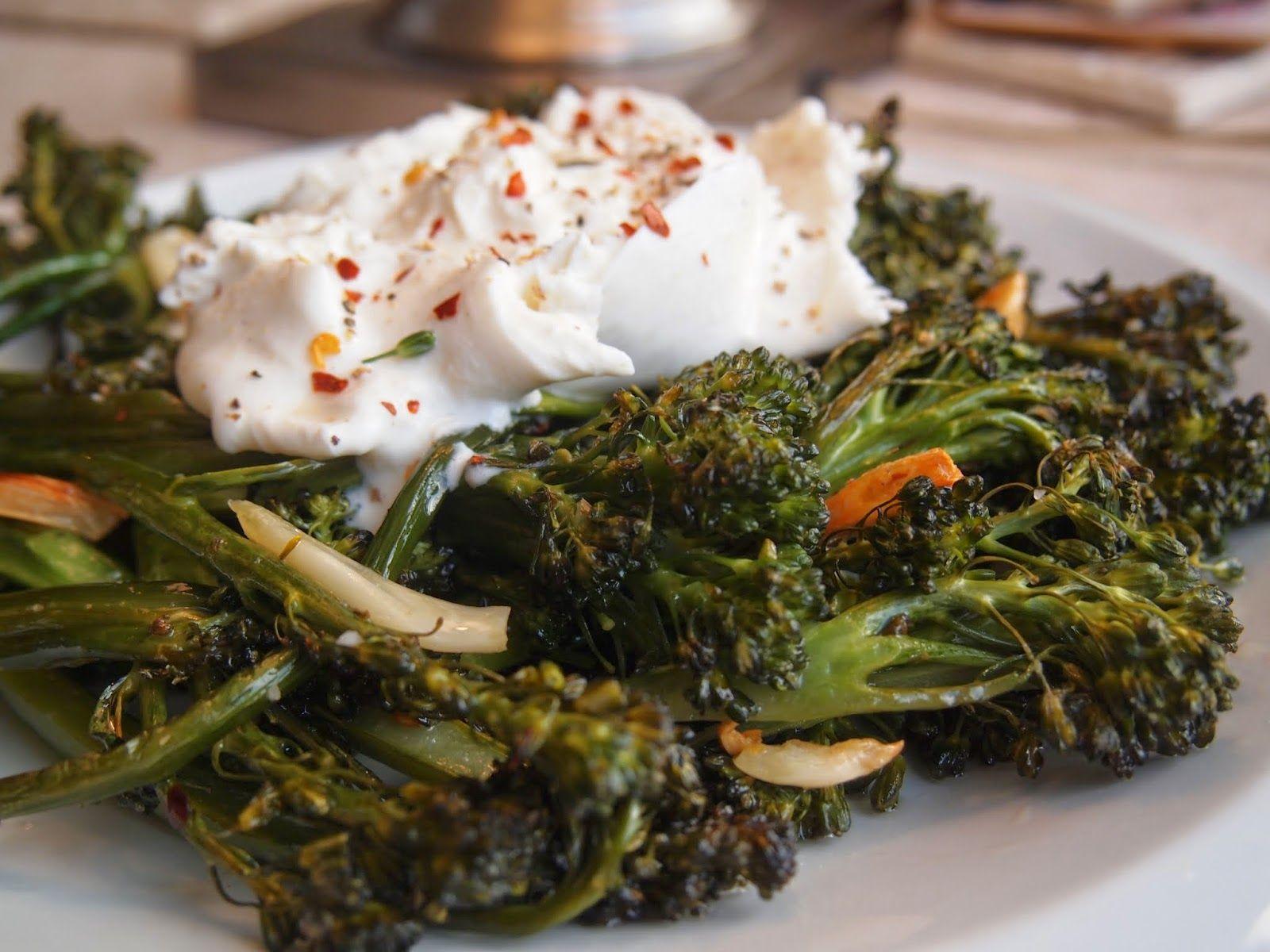 Roasted Broccolette and Garlic | www.lakeshorelady.com