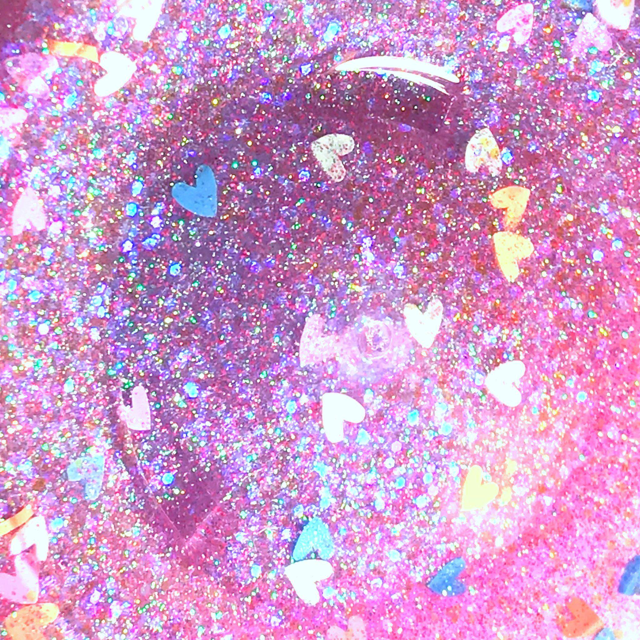 Sweetener Glitter Bomb Slime Peachybbies Slimy Slime