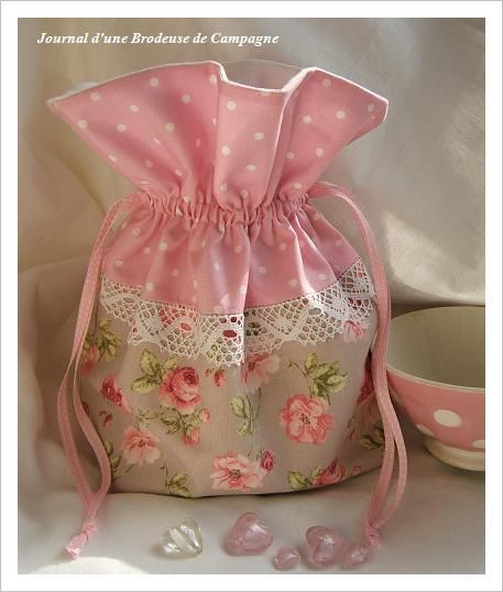 sweet little French sachet bag | СУМКИ сумочки | Pinterest | Beutel ...