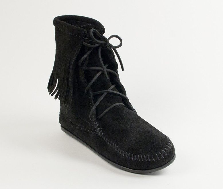 Tramper Boot Minnetonka Moccasin Fringe Boots Minnetonka Boots Boots