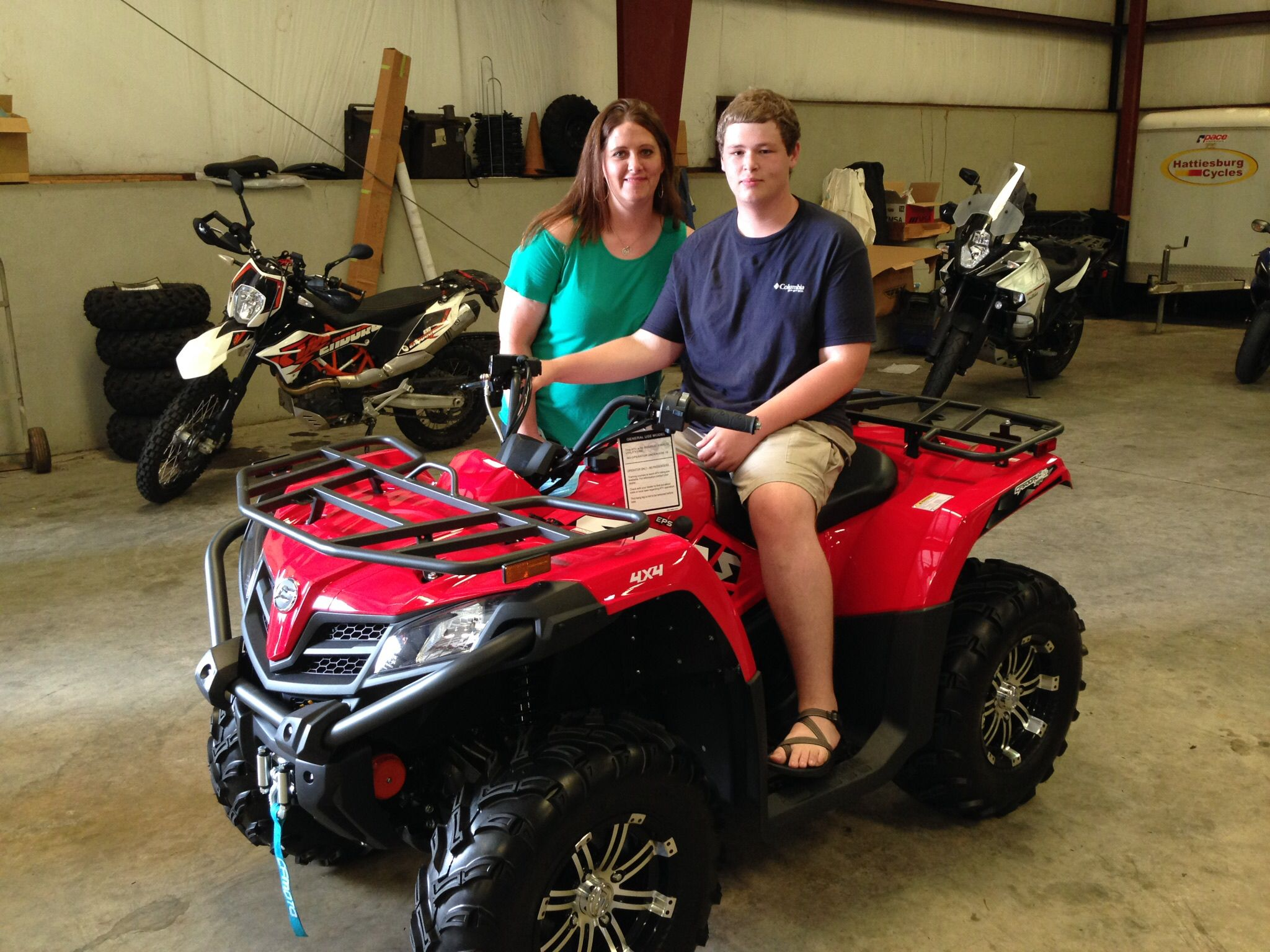 Congratulations to Jennifer and Patrick Smith from Brandon