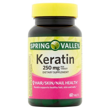 Spring Valley Keratin Tablets, 250 mg, 60 Ct - Walmart.com