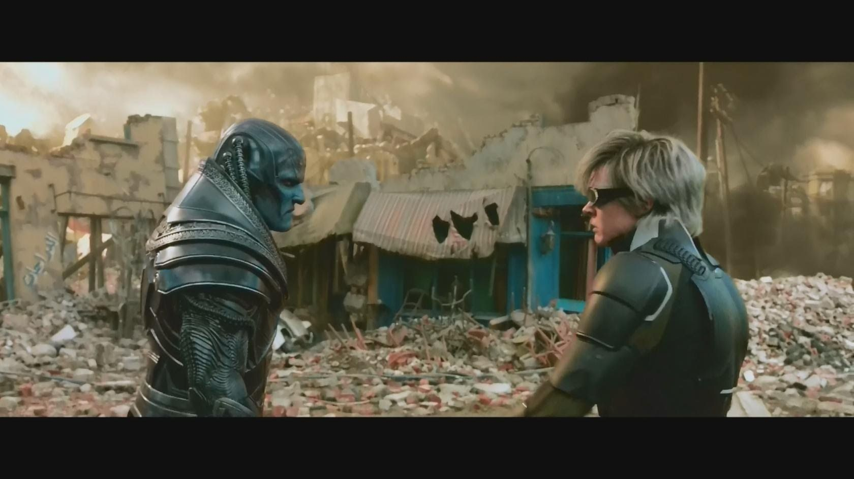 X Men Apocalypse Vs Quicksilver Fight Scene Blu Ray Hd X Men Apocalypse Scene Youtube
