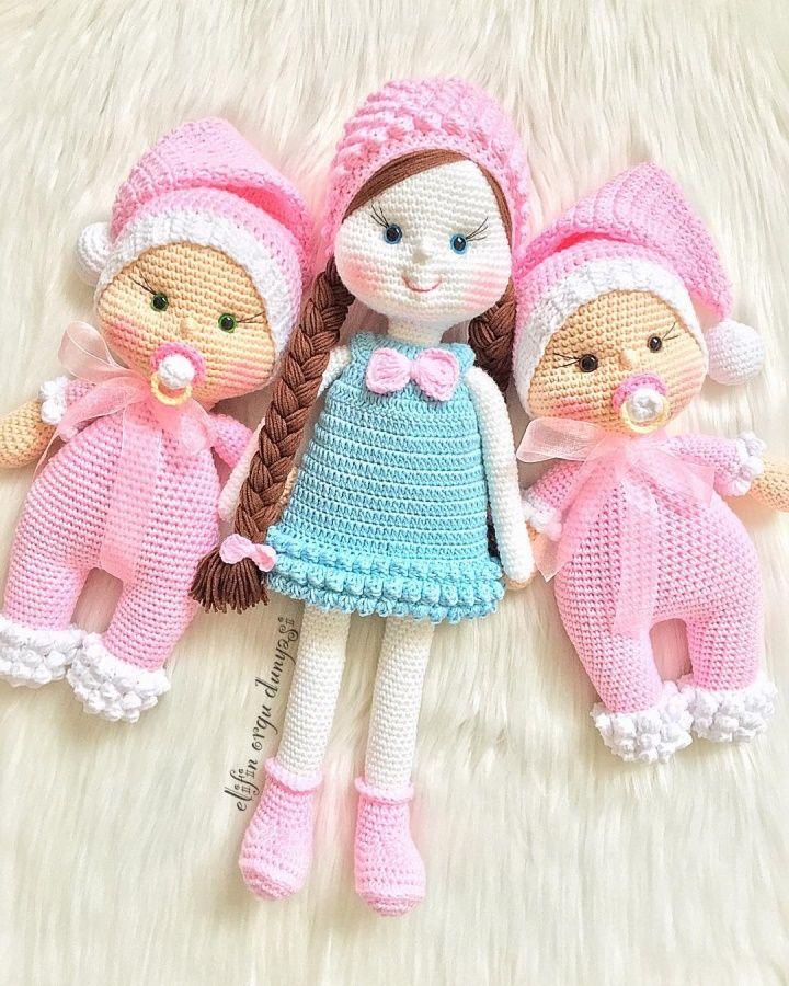 Amigurumi Dolls Crochet Amigurumi Doll Crochet Dolls Crochet