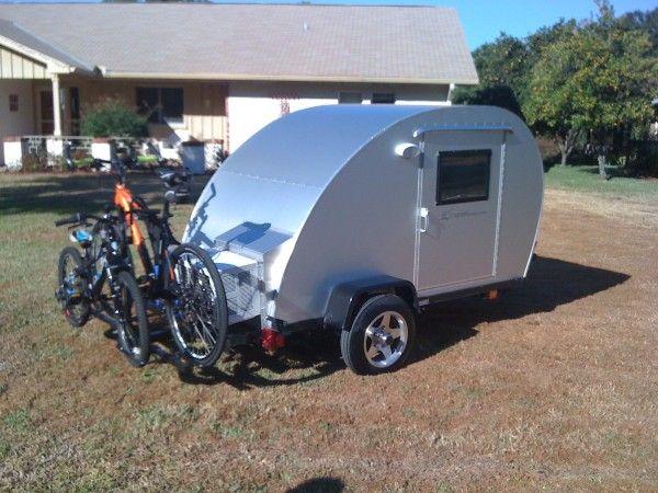Trekker Trailer Bicycle Rack Teardrop Camper 01 600x450 The Simple