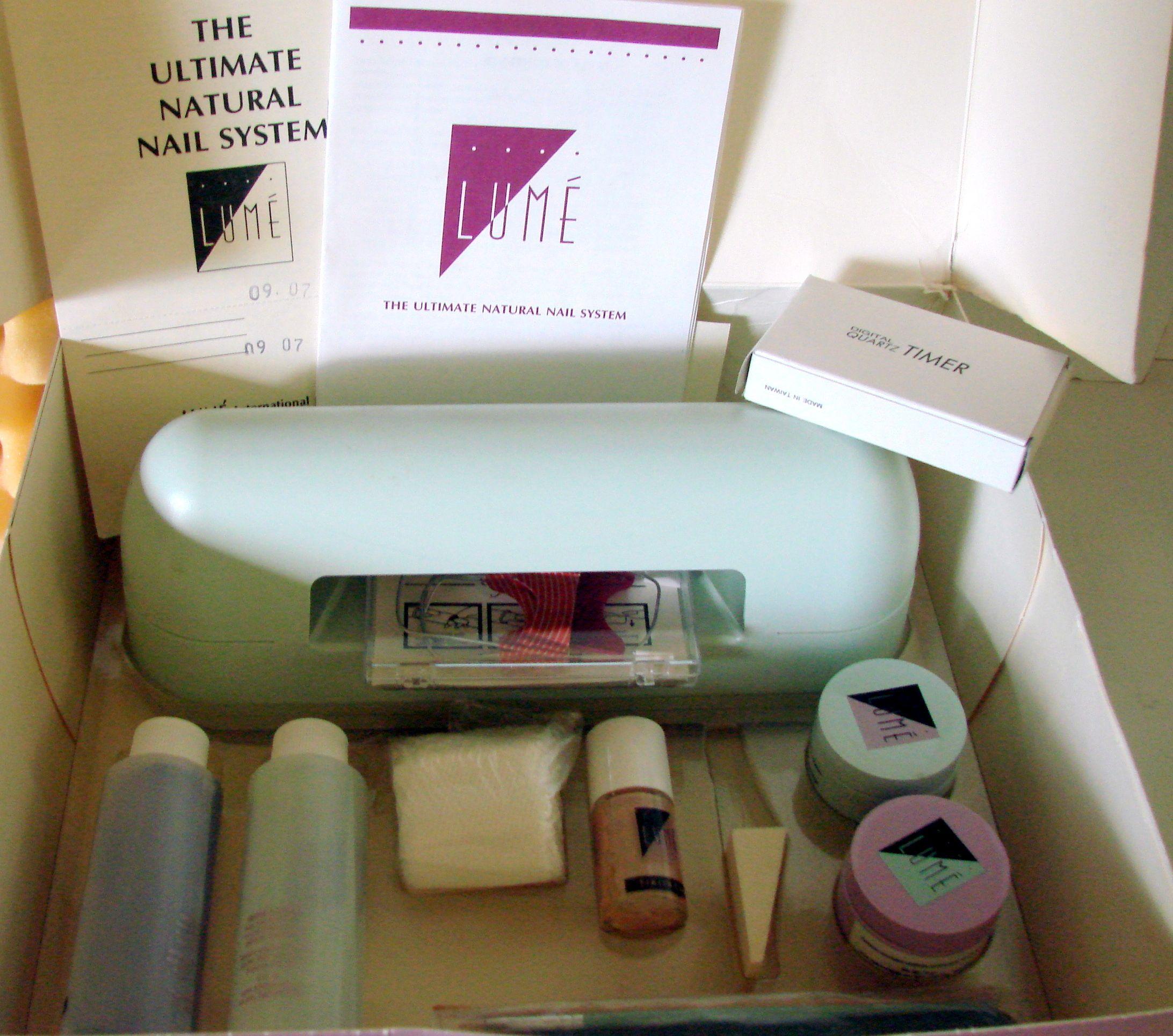 Orginal Lume\' The Ulimate Natural Nail System | Store: Medical ...