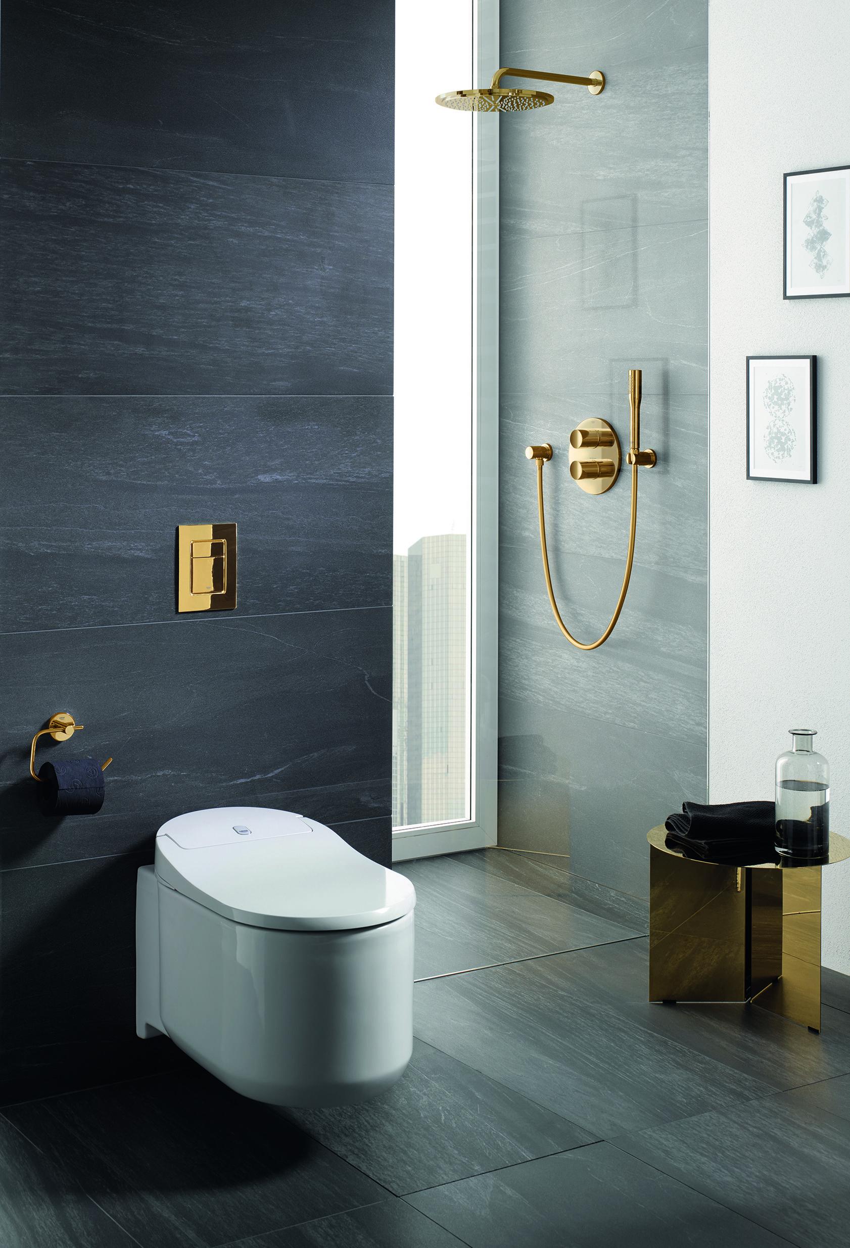 Hands Free Grohe Sensia Arena Bathroom Interior Design Bathroom Interior Luxury Bathroom