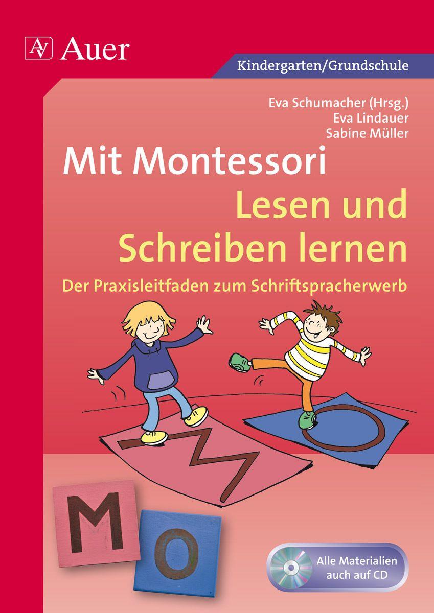 Mit Montessori Lesen und Schreiben lernen | Schreiben lernen ...