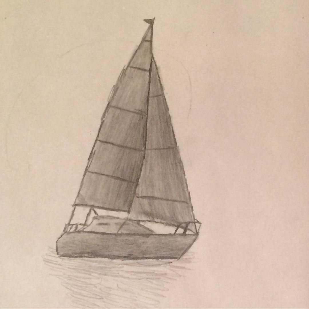 there u0027s never too many boats charcoalpencil charcoaldrawing