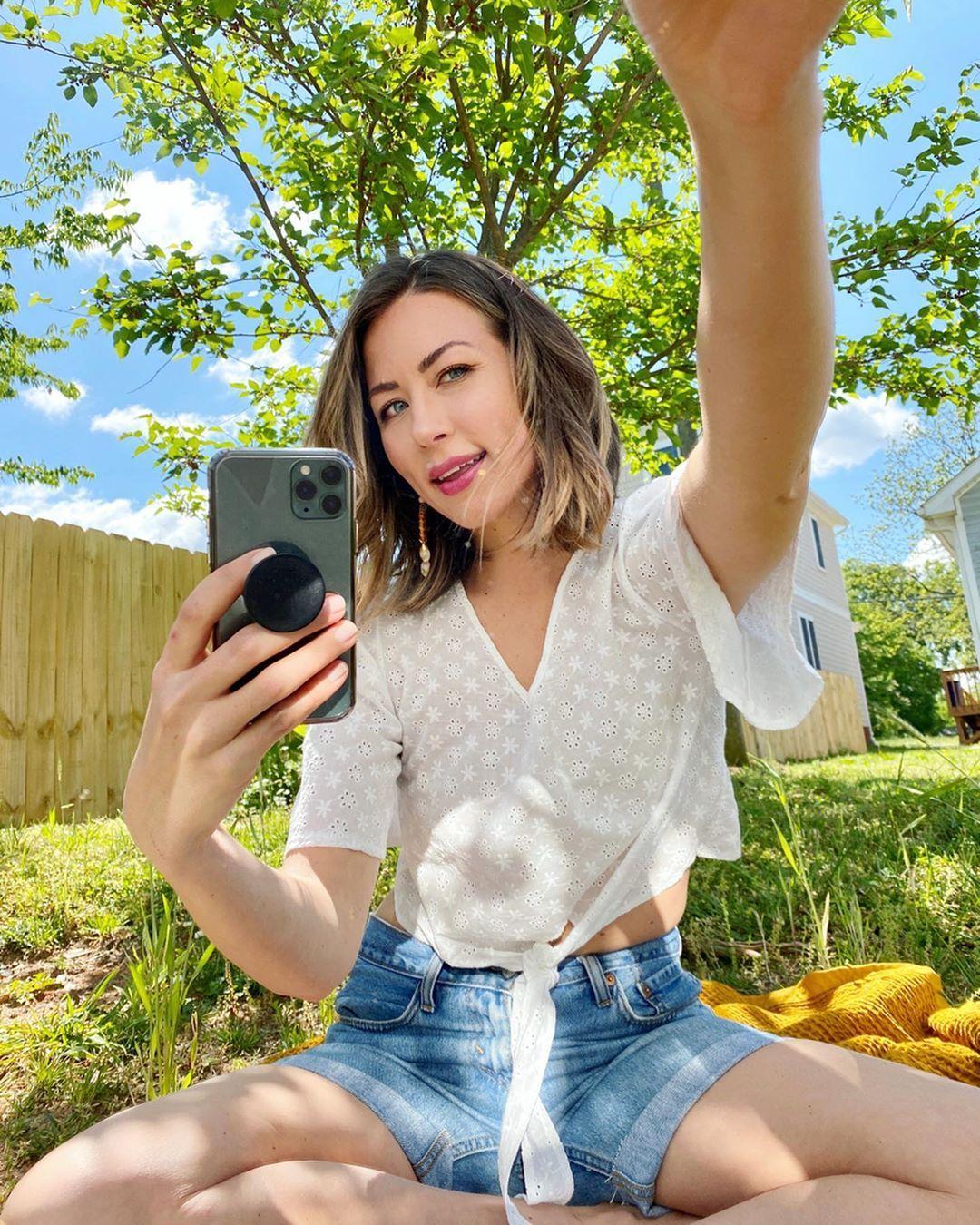Mirror Selfie Fashion Women Women S Top