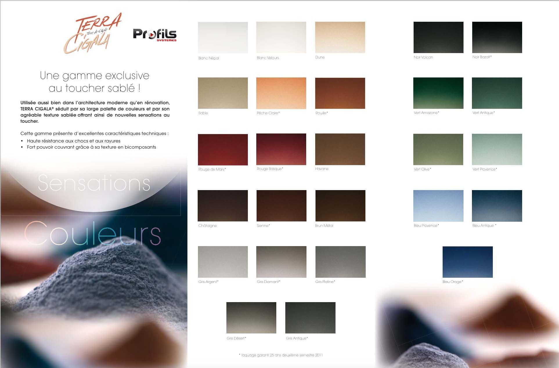 terra cigala une gamme de couleur au toucher sabl. Black Bedroom Furniture Sets. Home Design Ideas