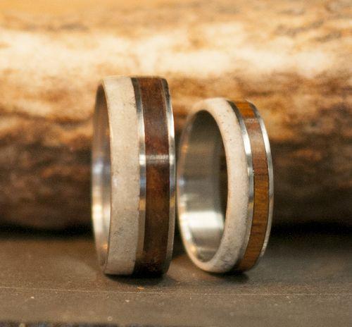 Women S Rings Antler Wedding Rings Wood Wedding Band Engagement Ring Buying Guide