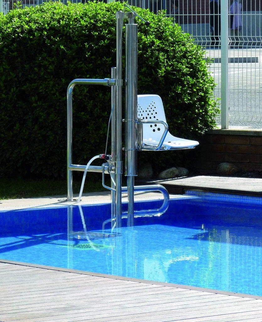 Elevador para piscinas aqua otras soluciones v lida for Productos piscinas