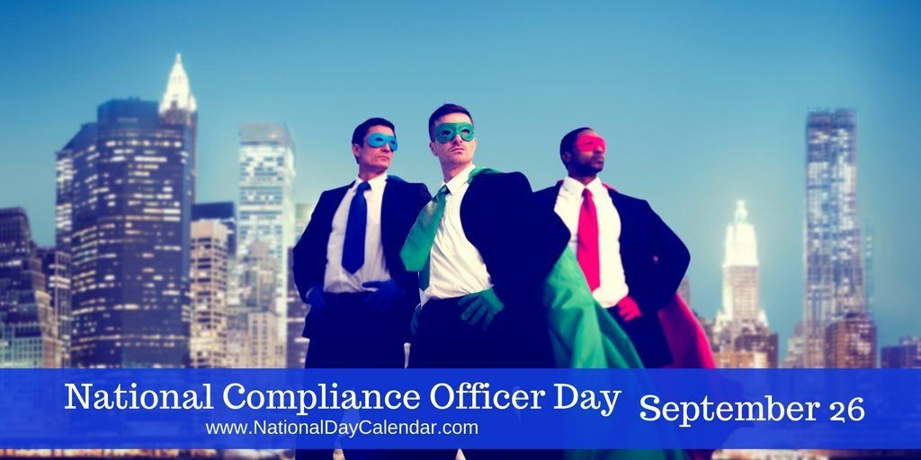 New Day Proclamation National Compliance Officer Day