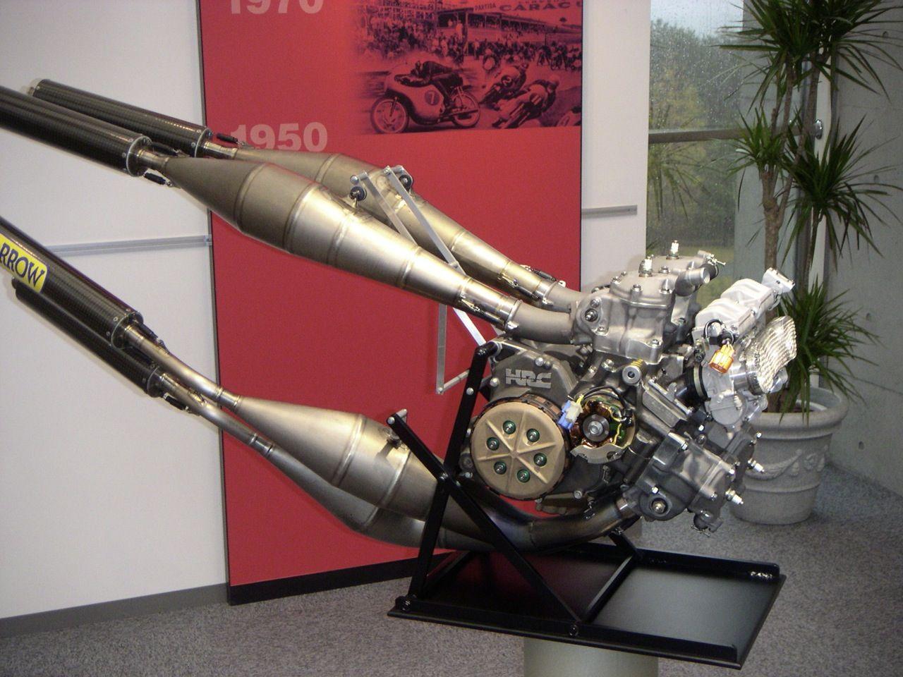 Honda Racing Moto Gp: Honda V4 Water Cooled Moto GP Engine
