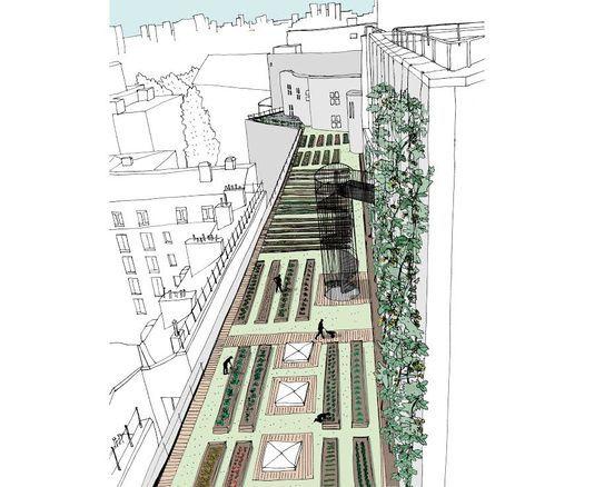 des l gumes des poissons et du houblon cultiv s sur les toits ou dans les parkings de paris. Black Bedroom Furniture Sets. Home Design Ideas