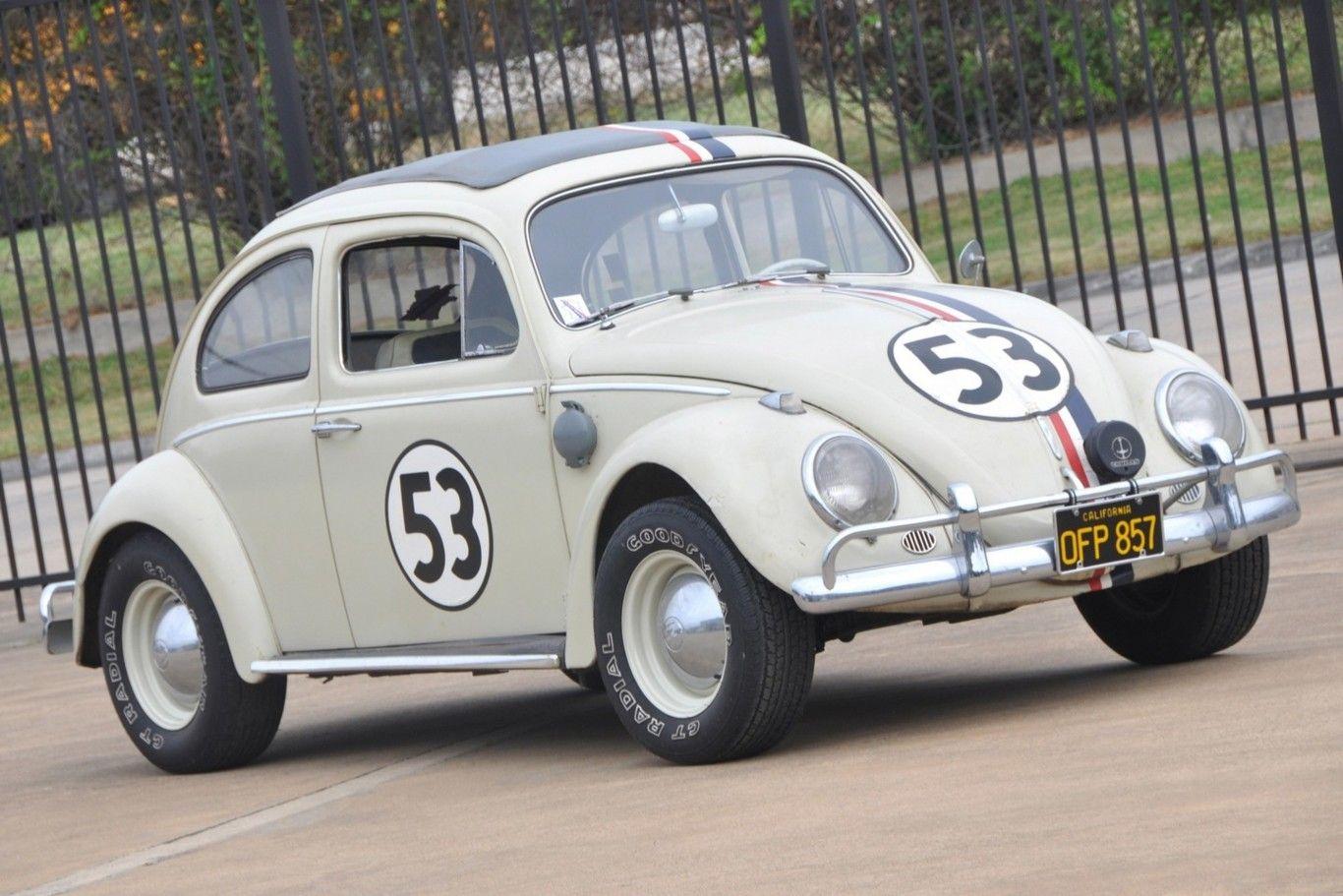 Herbie original se vende en más de $1,400,000 | VW Beetle ...