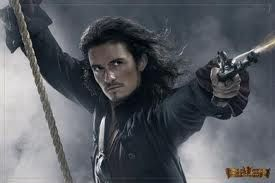 Captain Turner Pirates Of The Caribbean Orlando Bloom Will Turner