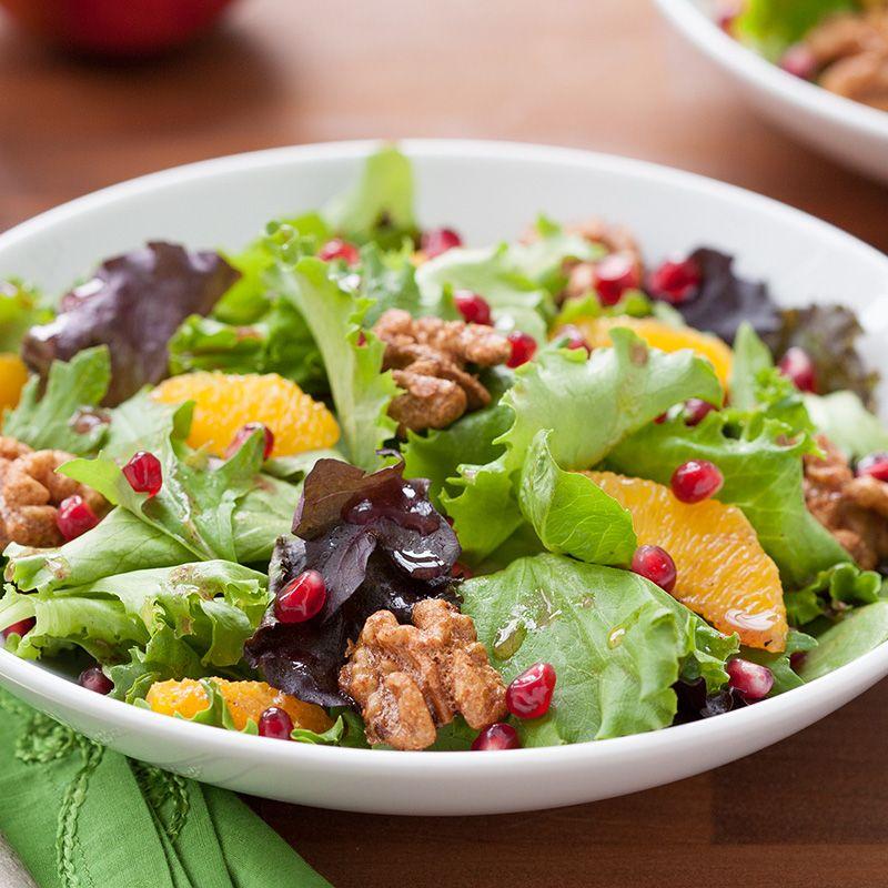 pomegranate and orange salad