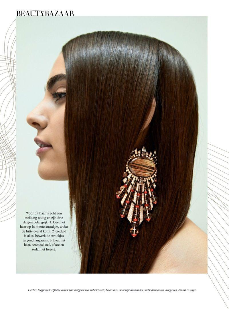 Photo of Romy Schonberger shines in Cartier for Harper's Bazaar Netherlands – #bazaar # …