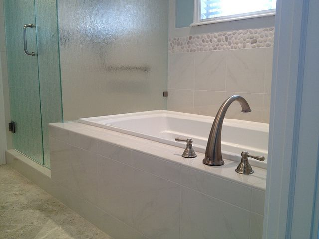 """Master Bath """"After"""" by Ironwood Custom Builders"""
