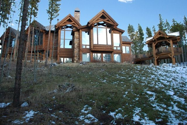 Luxury Log Home Exterior Finishes Google Search Log Cabins For