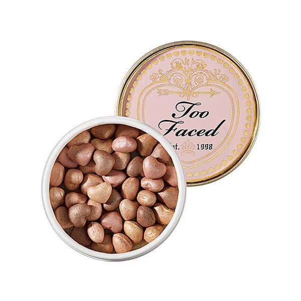 Too Faced Sweetheart Beads Radiant Glow Face Powder ($32) ❤ liked on Polyvore