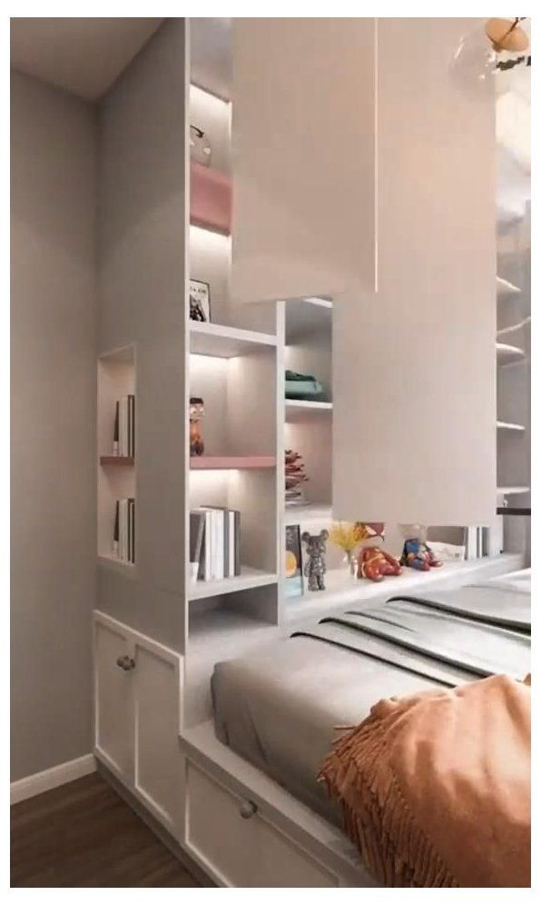 inbuilt wardrobe bedroom closet designs