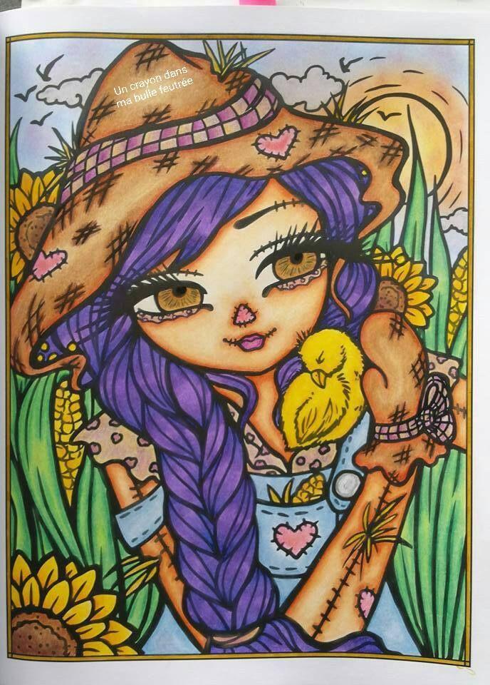 """Sweet Scarecrow"" Enchanted Halloween - Hannah Lynn ..."