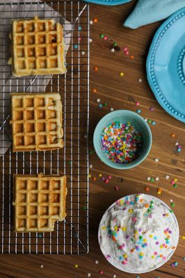 Dunkaroo Dip and Graham Cracker Waffle Recipe!