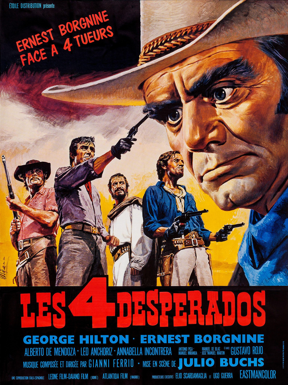 Les 4 Desperados 1969 Filmposters
