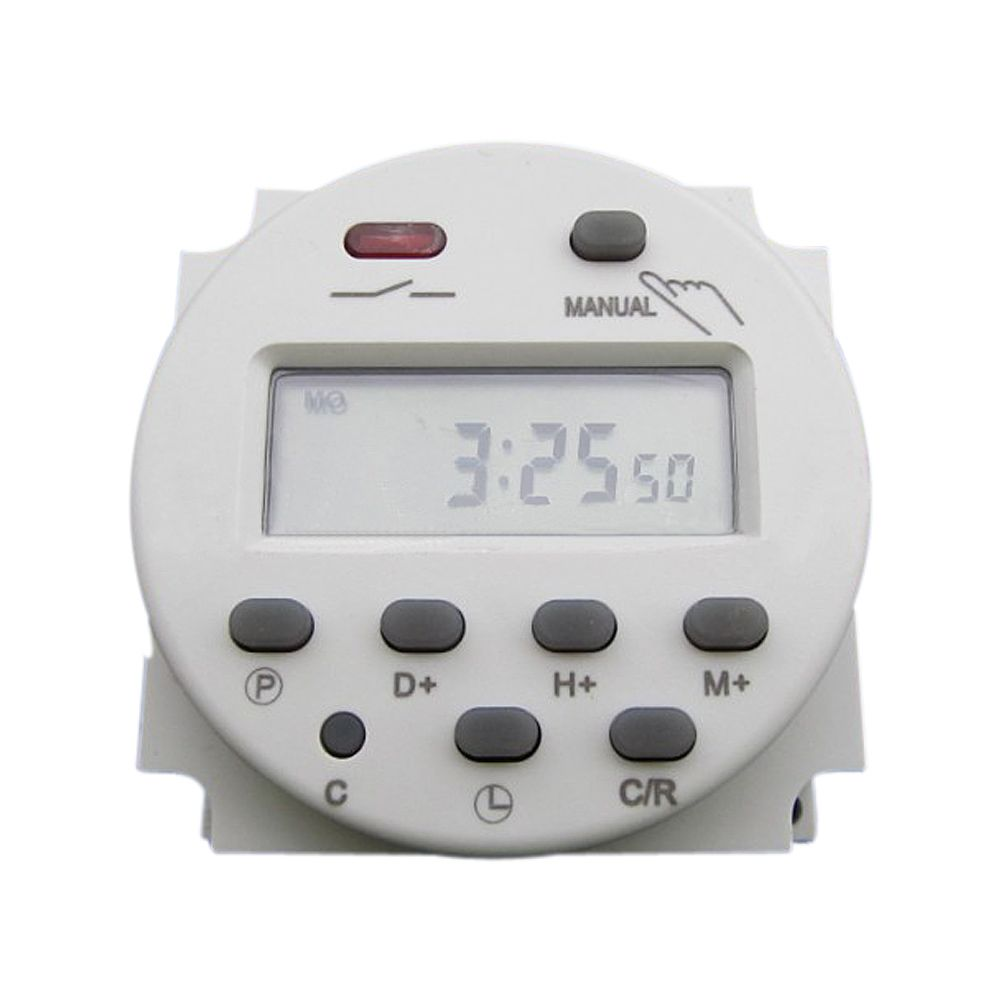 Cn101a Lcd Digital Power Programmable Timer Dc 12 V 16a Waktu Relay Beralih Kontrol Untuk Peralatan Listrik Digital Timer Timer Electrical Switches