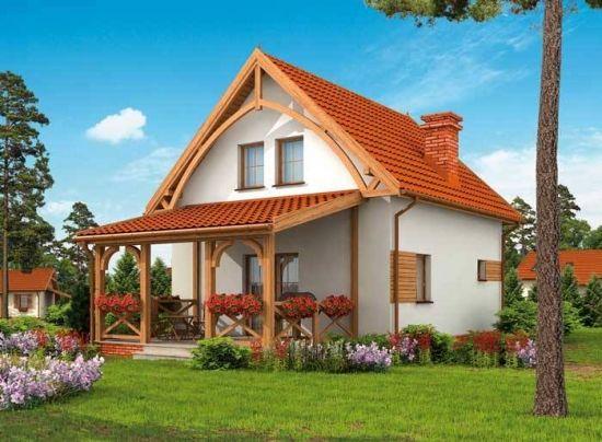model de casa cu terasa acoperita anexata renovari case