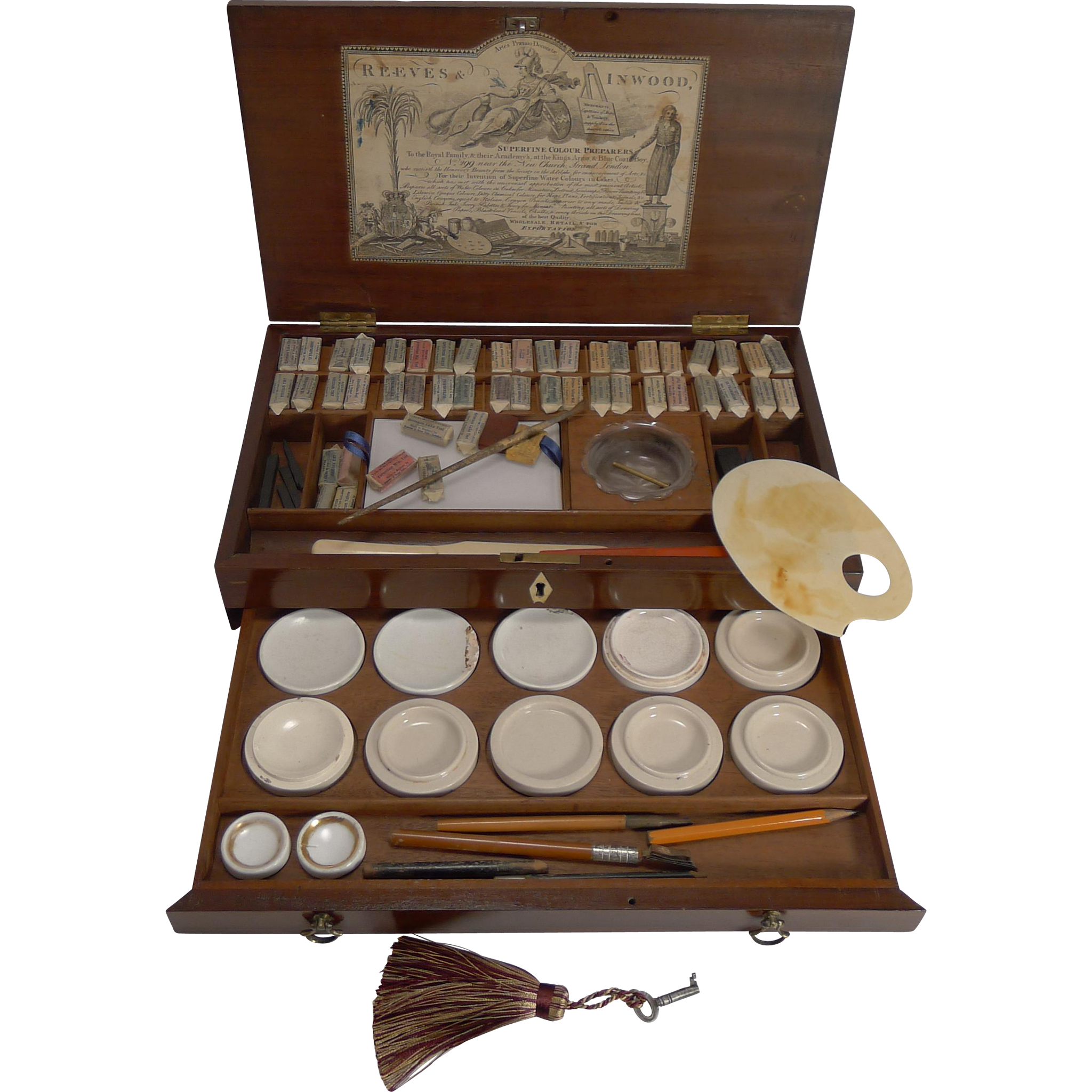 Magnificent Artist Watercolor Paint Box by Reeves