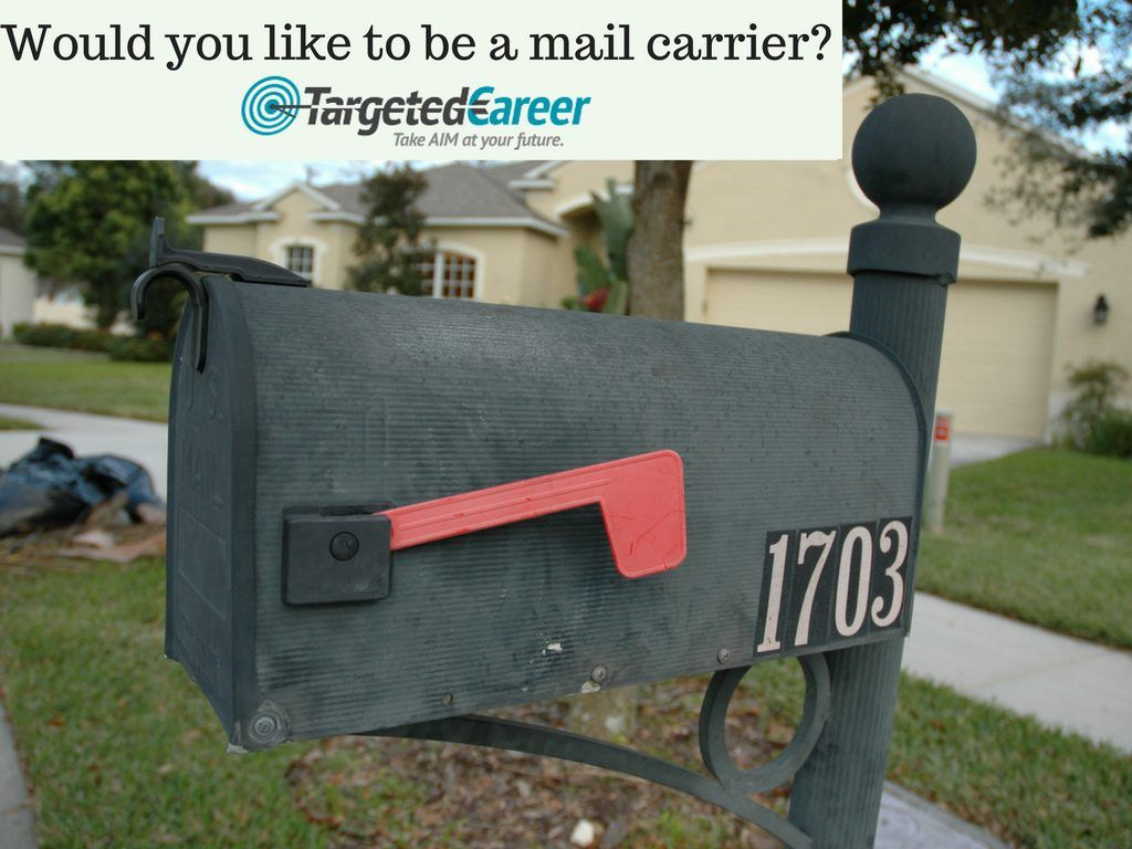 This Is The Career Of A Mail Carrier