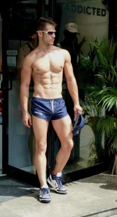 Very short gay shorts