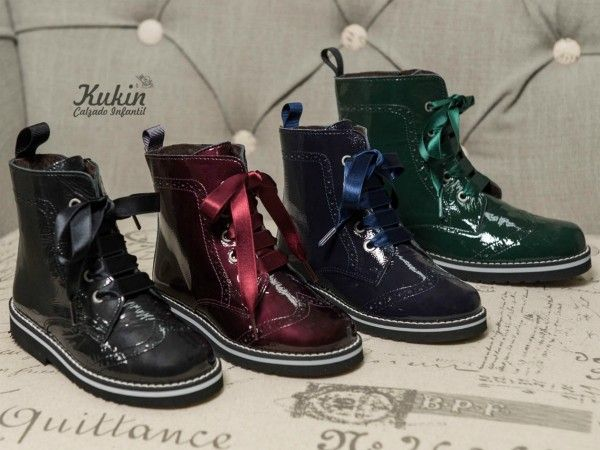 zapatos elegantes orden de calidad superior Botas militares nina - botas nina on line - guxs -botines ...
