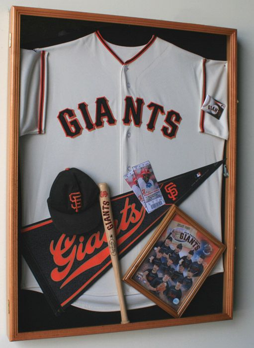 Xl Football Hockey Baseball Sports Jersey Display Case