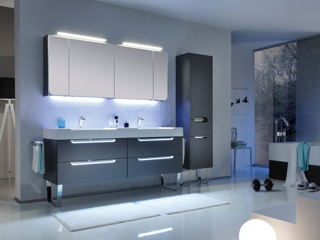 Solitaire 7020 Bathroom Bathroom Furniture Lighted Bathroom Mirror