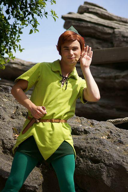 Following The Leader with Peter Pan, Disneyland Paris (May 2011)