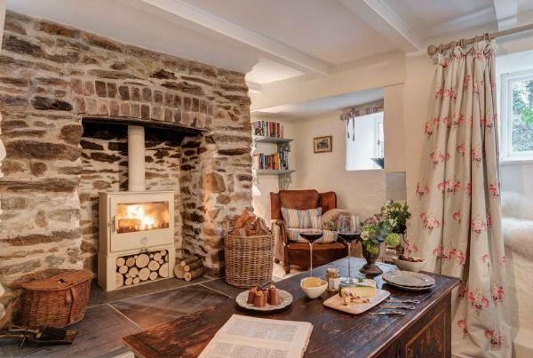 Lismary 39 s cottage un cottage in cornovaglia interni di for Interni case inglesi