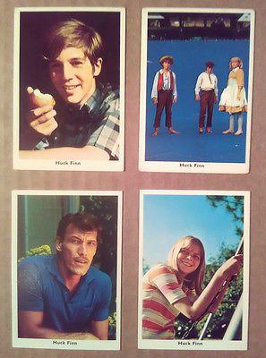Trading Card Lot~ HUCK FINN~Michael Shea~Kevin Schultz~Lu Ann Haslam~Ted Cassidy