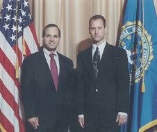 Jason T. Brown with Former FBI Director Louis Freeh