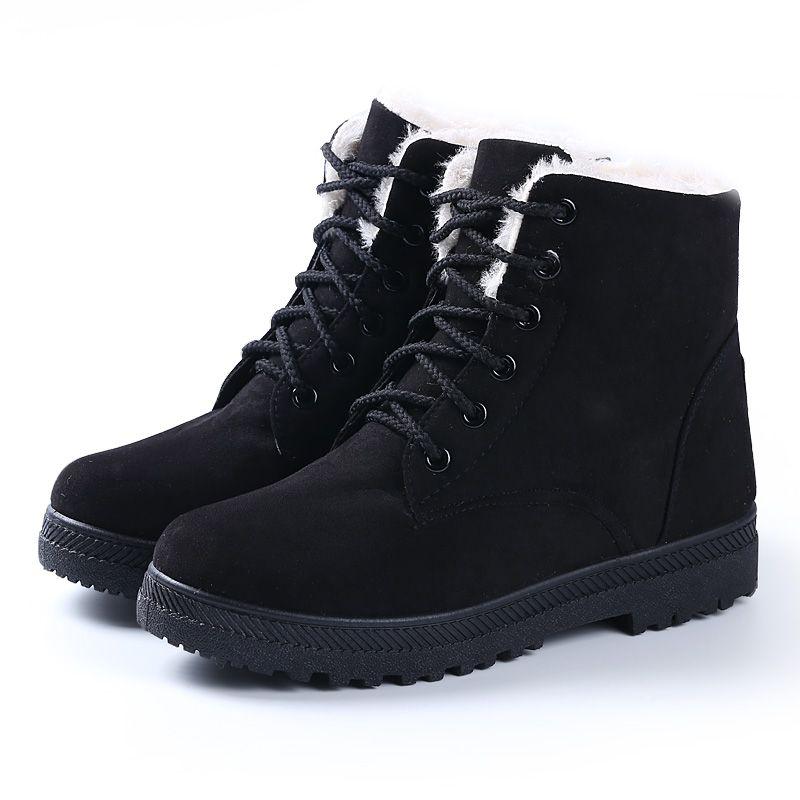 Fashionable Snow Boots For Women Women Boots 2016 New Snow Boots Winter Women Fashion Ankle Boots For Sepatu Salju Sepatu Perempuan Sepatu Kets Wanita