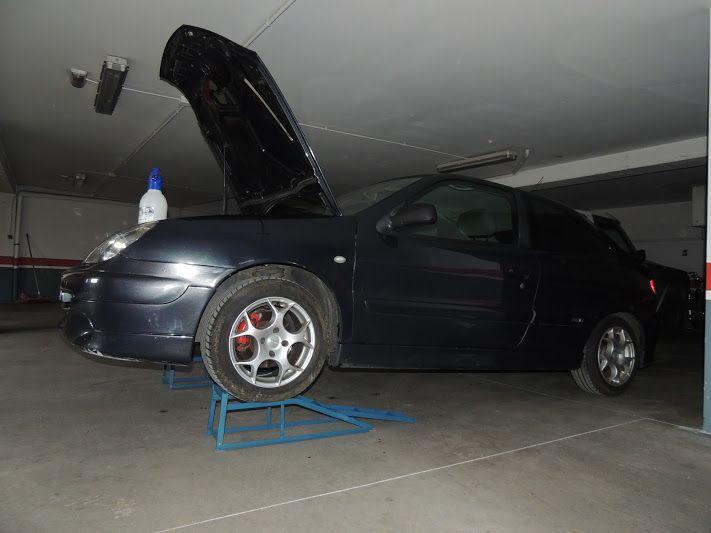 Rampas 2 unidades para elevar coches de hasta 2 - Garaje de coches ...